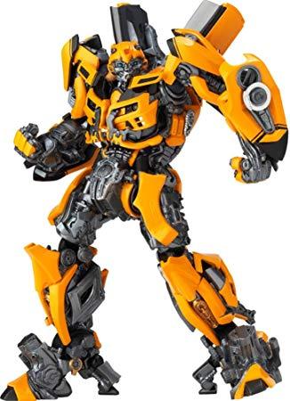 figurine transformers bumblebee