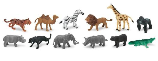 figurines animaux sauvages