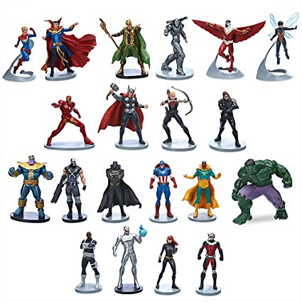 figurines marvel avengers