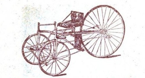 first tricycle