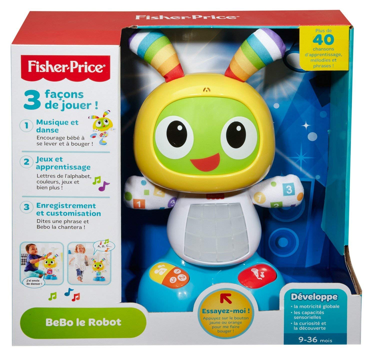 fisher price bebo