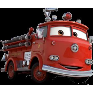 flash mcqueen pompier