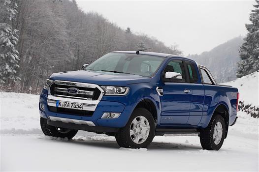 ford ranger bleu