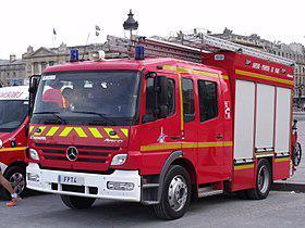 fourgon pompier