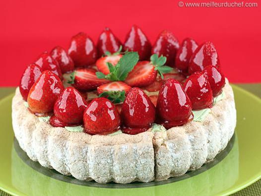 fraises charlotte aux fraises