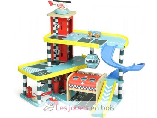 garage bois enfant