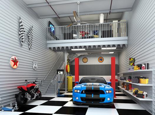 garage cars