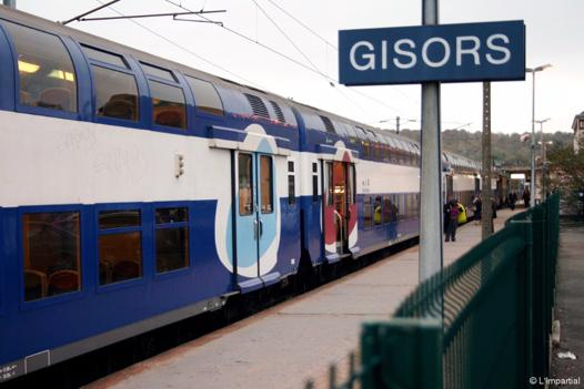 gisors paris train