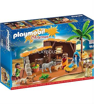 grande creche playmobil