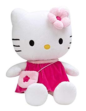 grande peluche hello kitty