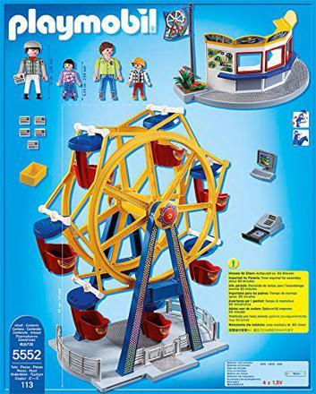 grande roue playmobil
