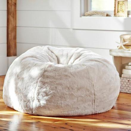 gros coussin pouf