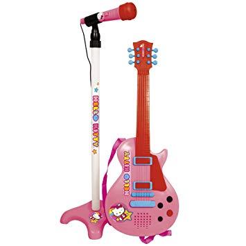 guitare avec micro