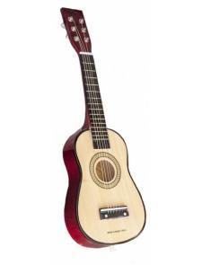guitare en bois jouet