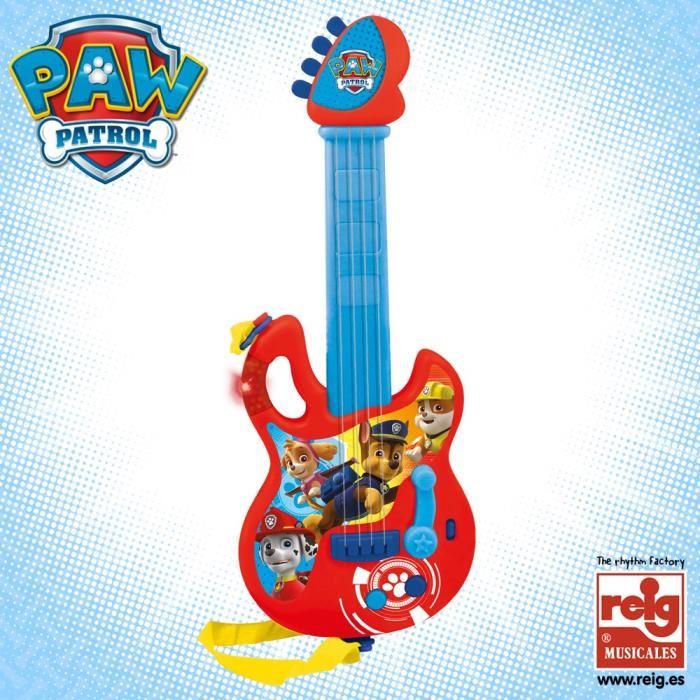 guitare pat patrouille