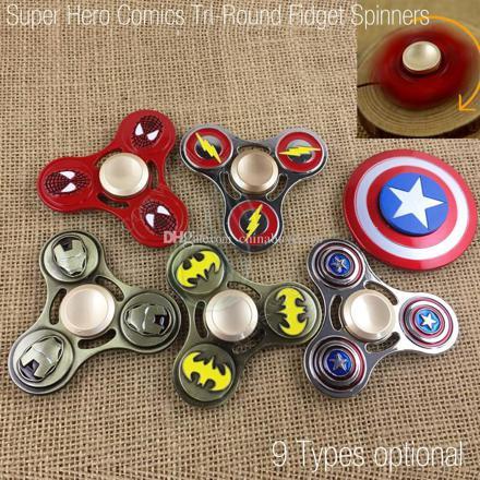 hand spinner super hero