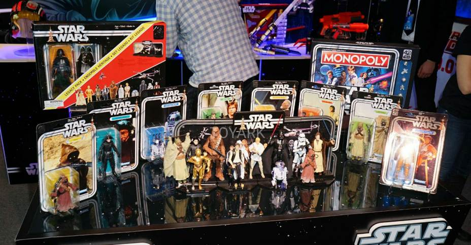 hasbro star wars figurines