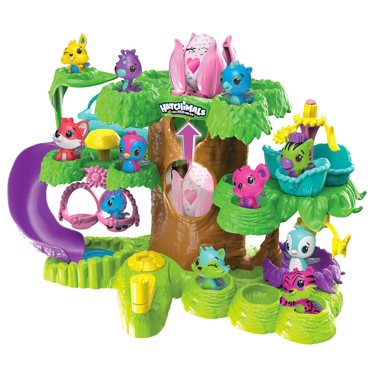 hatchimal arbre de collection