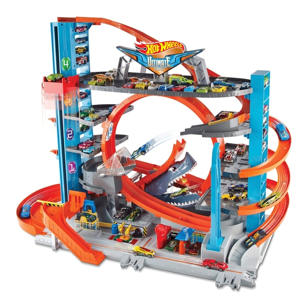 hot wheels garage