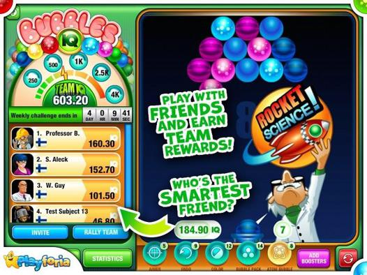 jeu bubble iq