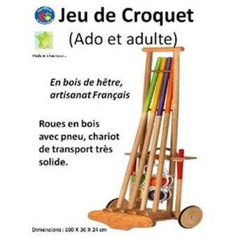 jeu croquet adulte