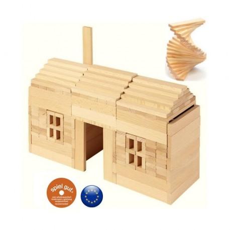 jeu de construction en bois kapla
