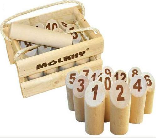 jeu de quille en bois molkky