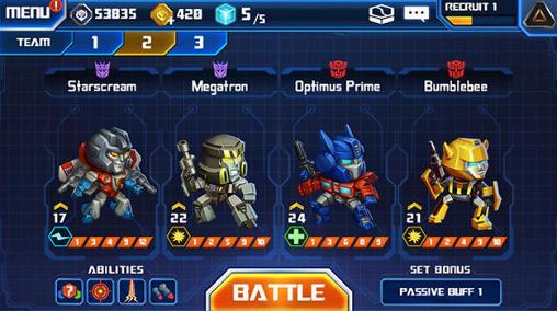 jeu de transformers gratuit