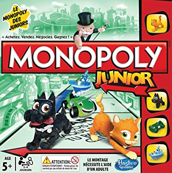 jeu monopoly junior
