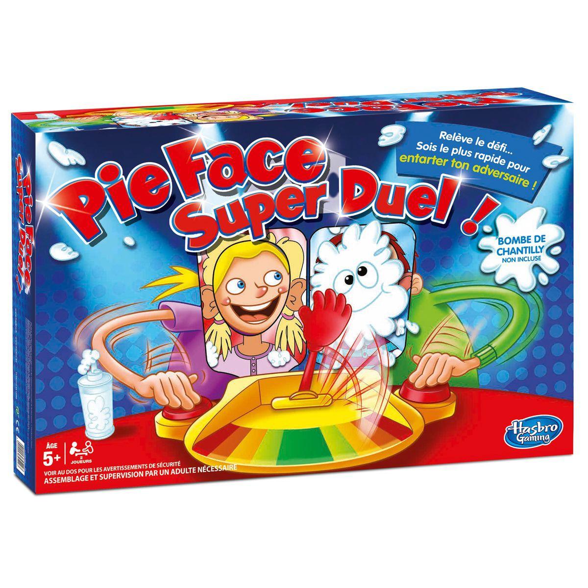 jeu pie face super duel