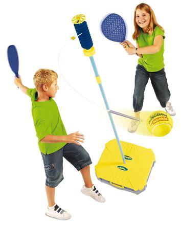 jeu raquette balle elastique