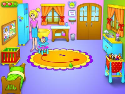 jeux baby sitter