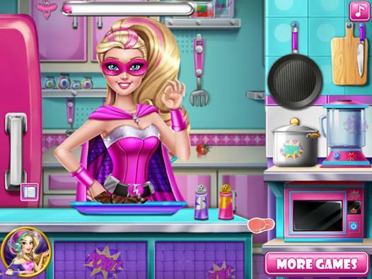 jeux barbie cuisine