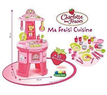 jeux charlotte aux fraises cuisine