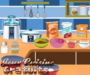 jeux dans la cuisine
