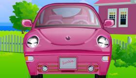jeux de barbie voiture