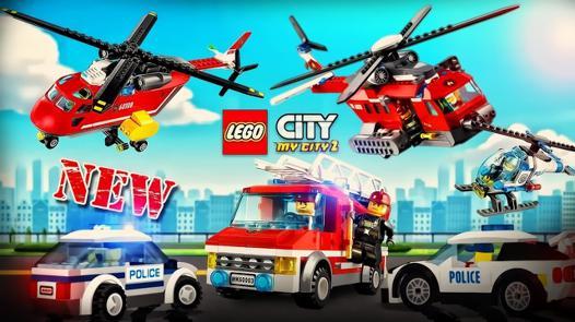 jeux de camion de police en ville
