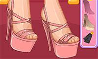 jeux de création de chaussure a talon