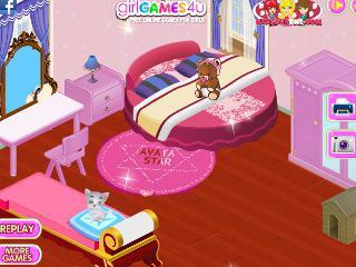 jeux de décoration de maison de barbie