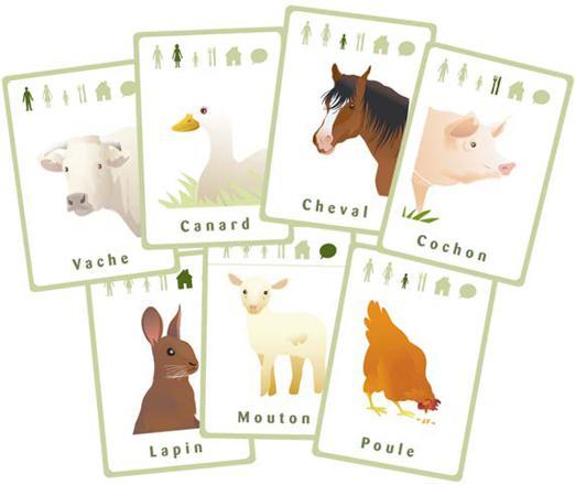 jeux de ferme animaux
