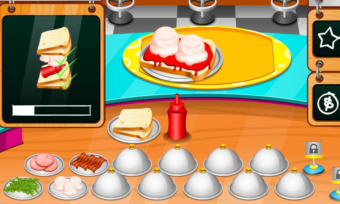jeux de fille cuisine