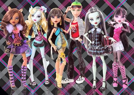 jeux de fille de monster high