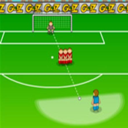 jeux de foot de coup franc