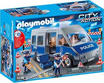 jeux de fourgon de police