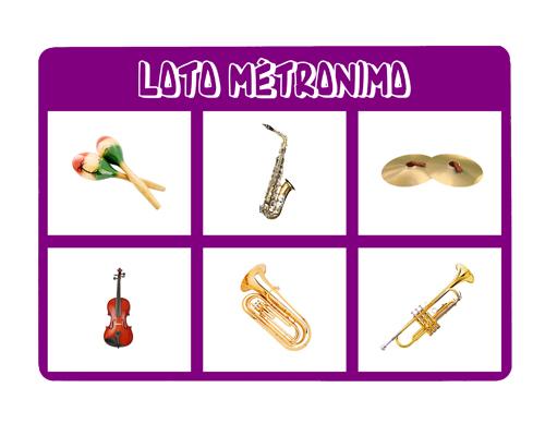 jeux de instrument