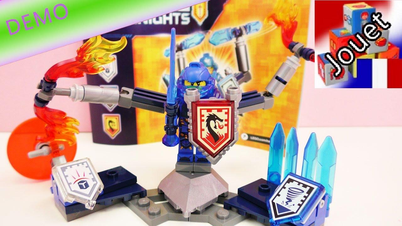 jeux de lego nexo knights