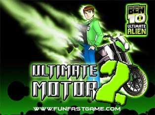 jeux de moto de ben 10
