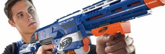 jeux de pistolet nerf