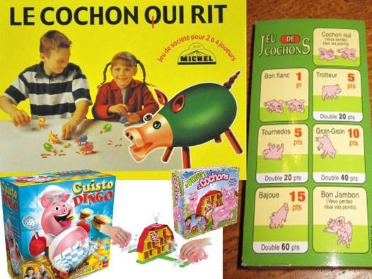 jeux de porc