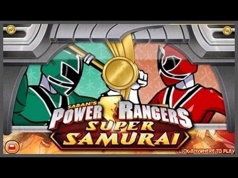jeux de power rangers samurai